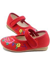Tianrui Crown - Sandali da ragazza' , rosso (Rose rosso), 27 EU