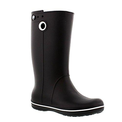 crocs Schuhe - Gummistiefel CROCS CROCBAND JAUNT - black, Schuhgröße:EUR 41