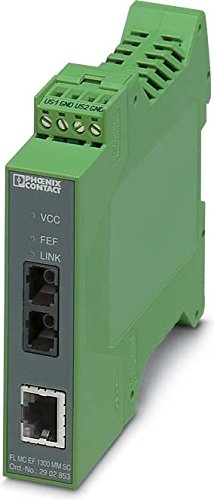 PHOENIX FL-MC EF1300MM ST - CONVERTIDOR FIBRA OPTICA FL-MC EF1300MM ST 18-30V CORRIENTE CONTINUA