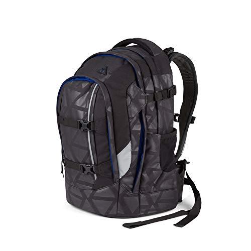 Zaino Scuola Ergobag Satch Pack - 30x22x45 cm - 30L - Black Triad