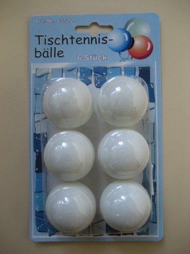 Tischtennisbälle 6 Stück