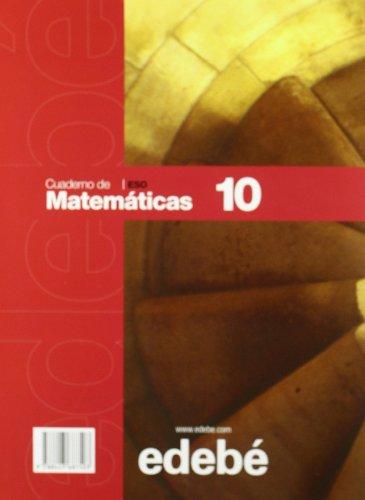 Cuaderno 10 Matemáticas - 9788423687503