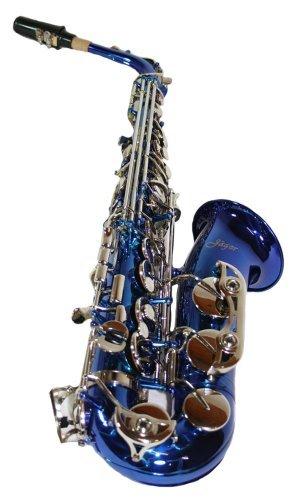 Cherrystone 4260180884746 - Sassofono contralto in MiB, con custodia in ABS e accessori, blu