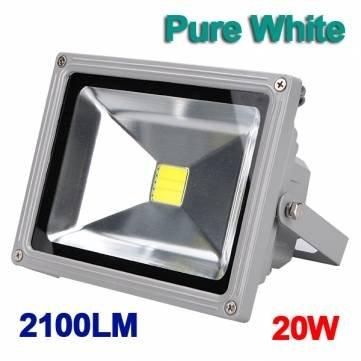 Laver 20W 2100LM Blanc Projecteur LED extérieur 85-265V étanche