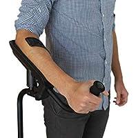 KMINA - Muletas KMINA PRO, Muletas antebrazo, Muletas cómodas de aluminio que evitan el dolor de manos