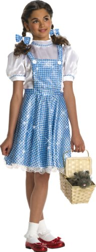 Kostüm Dorothy Deluxe Kind - Wizard of Oz Child's Deluxe Sequin Dorothy Costume, Small by Rubie's