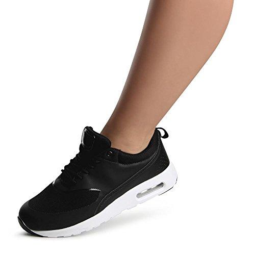 topschuhe24, Sneaker donna Nero (nero)