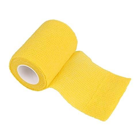 comomed Bandage cohésif pansement adhésif Rouleau flexible non tissé Bandage