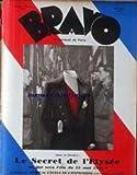 BRAVO [No 29] du 01/05/1931 - LE SECRET DE L'ELYSEE - P. DE PRESSAC - RENE LIZERAY - J. BOCAGE - LEON TREICH ET PH. FORTIN - R. MAUBLANC - TOULOUSE-LAUTREC PAR CL. ROGER-MARX - PH. SOUPAULT - S. GUITRY ET Y. PRINTEMPS - . RANEC - R. KEMP - ARMAD SALA