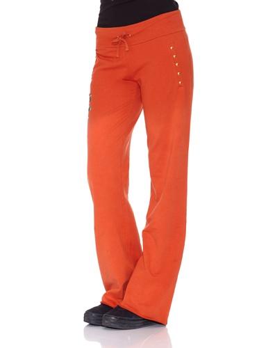 Ed Hardy Hose Flower Women Pants Koralle M -