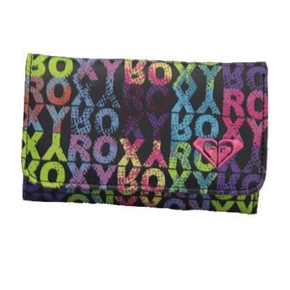 Roxy - Portafogli donna , Multicolore (Hash Rox),