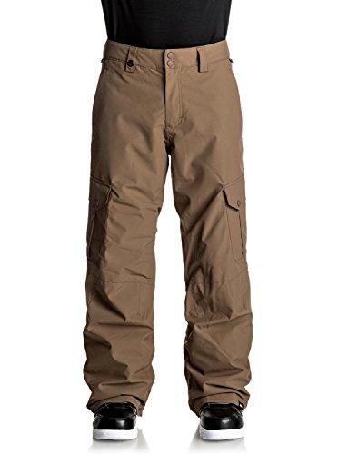Quiksilver Porter - Snow Pants - Snow-Hose - Männer - L - Braun (Snowboard-hose Quiksilver)