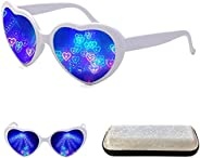 Heart Effect Diffraction Glasses Heart Shaped Light Special Refraction Glasses