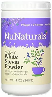 NuStevia White Stevia Powder 340 Grams by Nu Naturals