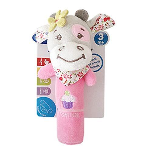 DDG EDMMS sonajero bebé ternero peluches para cunas juguete juguete que cuelga,...