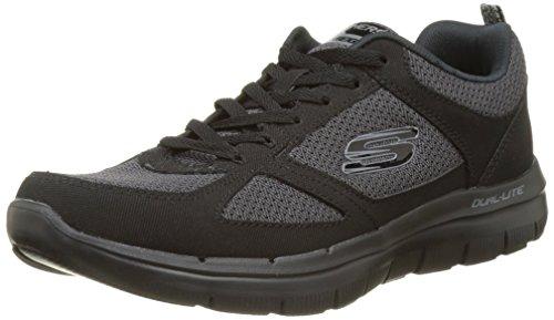Skechers Flex Advantage 2.0, Chaussures Multisport Outdoor Homme, Bleu