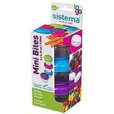 Picture Of Sistema To Go Mini Bites, 130 ml - Multi-Colour, Pack of 3