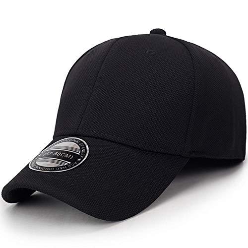 Women's Gangster Black Kostüm - youjiu Full Seal Baseball-Mütze Herren Sommermütze Sport Sonnenhut Korean Outdoor Frühling Herbst Hut Lady @ Black_Adjustable