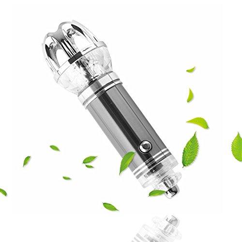 G-Hawk®Car Purificateurs d'air ioniques pour fumeurs, Car Air Cleaner Barre d'oxygène avec Ioniseur puissant-libère des ions négatifs pour enlever efficacement la poussière, élimine le pollen, la fumée, la mauvaise odeur et les odeurs - Fumée, PM2,5, désinfection et stérilisation, décomposition du formaldéhyde, du benzène et de l'odeur dans l'air
