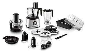 Philips HR7778/00 Robot da cucina 5 in 1, Multifunzione con Centrifuga + Frullatore + Spremiagrumi + Impastatore , 1300W, Avance Collection -