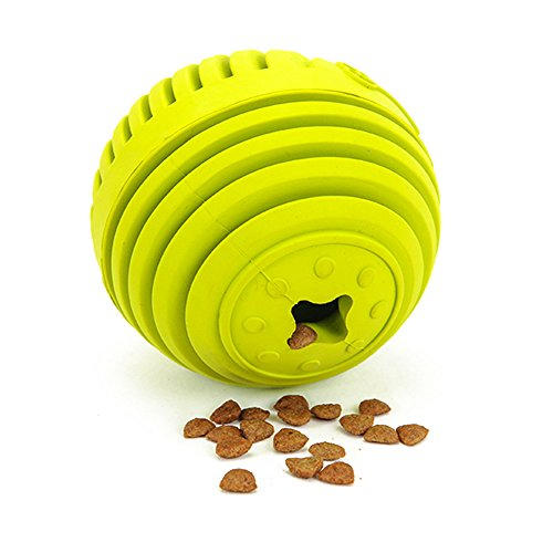 elzeug, LaRoo Haustiere Hund Snack Dispenser Interaktive Hundespielzeug Hund Behandeln Dispensing Ball Feeder Spielzeug Hund Kauen Spielzeug Hund (Hund Kauen Spielzeug)