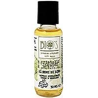 BIO'S - Cristalli Liquidi per Capelli - Olio Semi di Lino - Aumenta Morbidezza - Ristrutturante - Ricompattante - Capelli setosi - Senza Parabeni e Senza Siliconi - Vegan - 30 ml