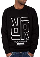 Rocawear Mens Boys Stencil Double R Jumper Sweatshirt Hip Hop