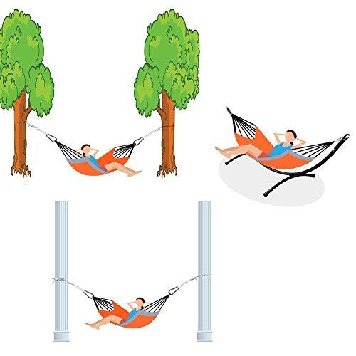 Hängematte,IntimaTe WM Heart Tragbar Parachute Haengematte Hängesessel, Hängematte Nylon - 6