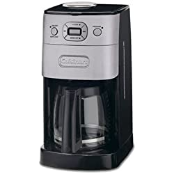 Cuisinart grind-and-brew Thermo 10-cup Automatische Kaffeemaschine Glas 12-Cup Brushed Metal