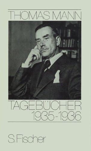 Buchseite und Rezensionen zu 'Tagebücher 1935-1936' von Thomas Mann
