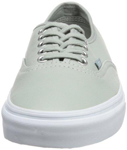 Vans U Authentic (Aged Leather)m, basket mixte adulte Gris - Grau ((Aged Leather) mirage gray)