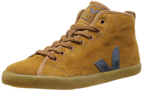 Veja  Taua Mid Suede Fured,  Sneaker donna Marrone Marron (Camel Nautico) 36