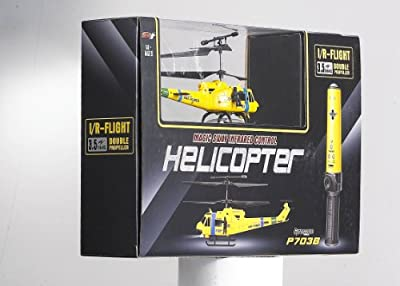 Electric 3.5CH Pheoni Motion Control Military RTF RC Helicopter - Pheonix P703B