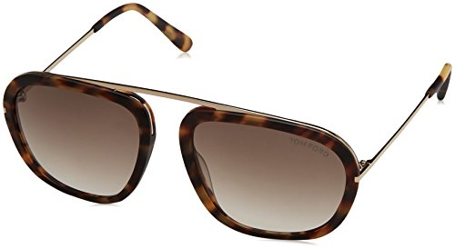 Johnson Uhren (zzz_Tom Ford Sonnenbrille Johnson (61 mm) havana)
