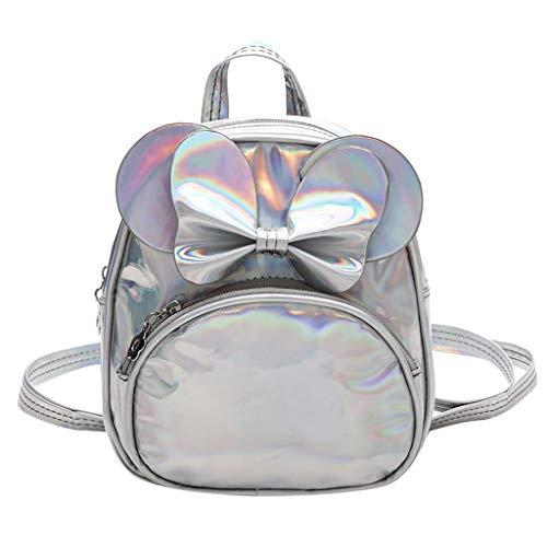 Mitlfuny handbemalte Ledertasche, Schultertasche, Geschenk, Handgefertigte Tasche,Kinder Kind Mädchen Fashion Solid Schule Schulter Handtasche Rucksack Tragetaschen