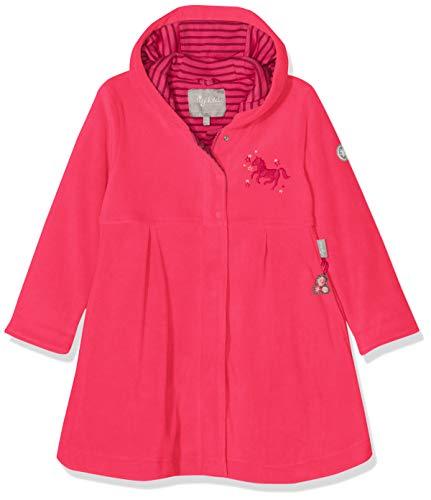 Sigikid Mädchen Mantel Fleece, Mini, Rot (Raspberry Sorbet 678), 122