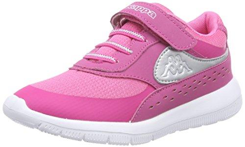 Kappa Sneakers Milla Unissex-kinder-de-rosa (2215 Rosa / Prata)