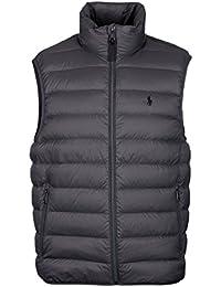 Ralph Lauren Polo Packable Down Vest Vintage Grey UK Size Medium bad017106df7