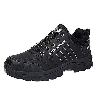 Ansenesna Wanderschuhe Herren Sport Flach Elegant Trekking Schuhe Zum Schnüren Männer Mode Laufschuhe Für Fitnessstudio Outdoor