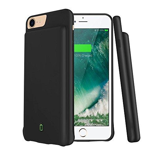 4500mAh Phone Power Bank tragbare für iPhone 6/6S/7/8Externe Backup Akku mobiles Ladegerät Slim 120% Aufpreis Magnetischer Lade Pack 11,9cm Schutzhülle Kompatibel Mit Kopfhörer und Bluetooth (Backup-akku-slim)