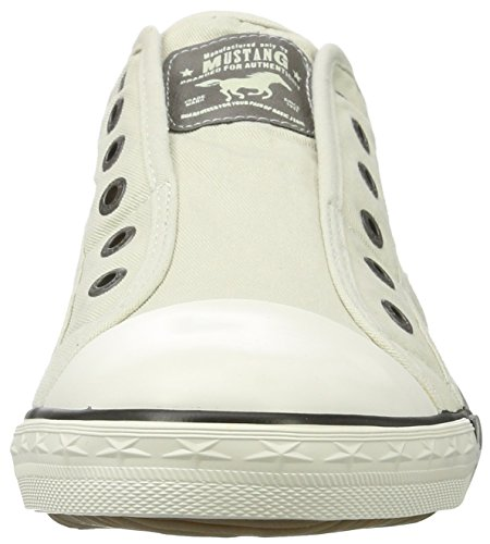 Mustang 1099401.0, Baskets mode femme Ivoire (Ice)