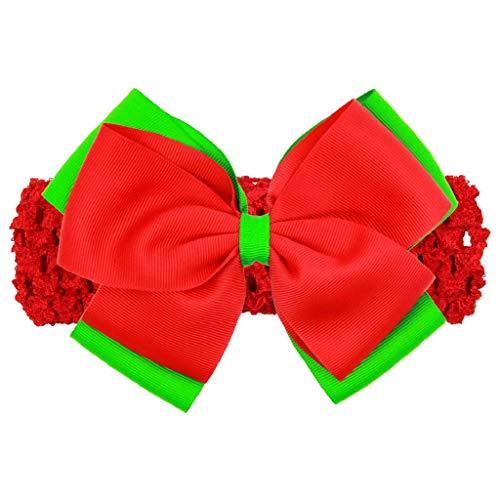 Die Herbst und Winter weihnachten Haarschmuck Kostüm Schmuck, Malloom Baby Weihnachtsverzierungs Kopfschmuck elastisches ()