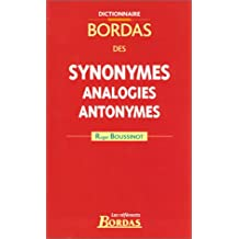 DICTIONNAIRE DES SYNONYMES 2003    (Ancienne Edition)