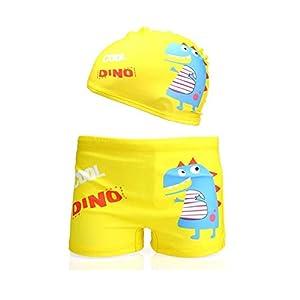 413JSWDE2DL. SS300  - Lazzon Bañador Niños Boxer de Natación Traje de Baño Bebe
