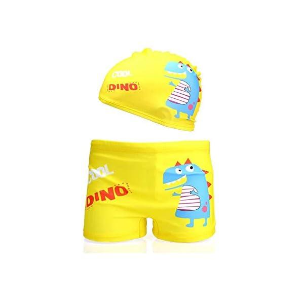 413JSWDE2DL. SS600  - Lazzon Bañador Niños Boxer de Natación Traje de Baño Bebe