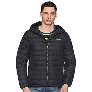 Columbia Powder Lite Hooded Jacket, Black, M