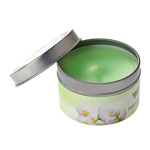 frcolor Aromatherapie ätherisches Öl Kerzen natürlichem Soja Wachs Floral ätherisches Öl weihgabe Dose Kerzen (Jasmin) -