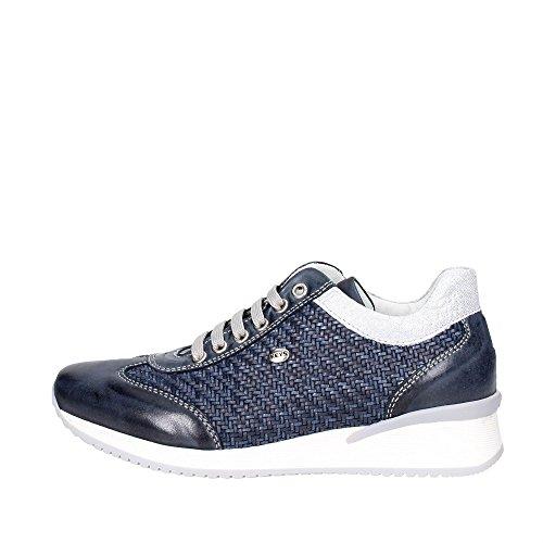Keys 5212 Sneakers Bassa Donna Blu