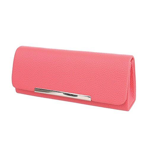 Ital-Design, Poschette giorno donna rosa rosso