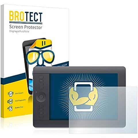 2x BROTECT HD-Clear Protector Pantalla Wacom intuos Pro M Película Protectora – Transparente,